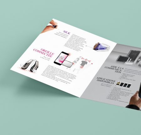 Audio brochure