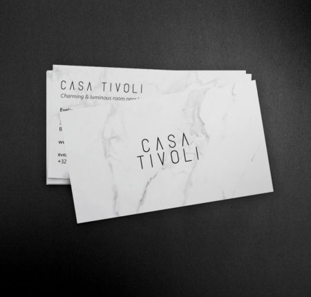 Logo & business cards for Casa Tivoli
