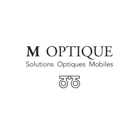 Logo design M Optique