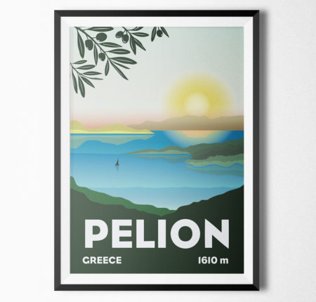 "Poster illustration ""Pelion"""